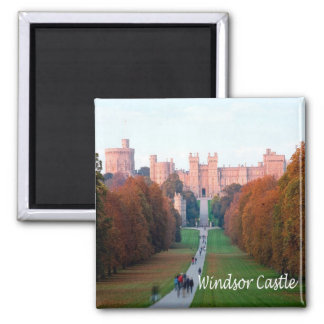 GB - England - Windsor Castle Square Magnet