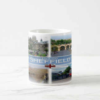 GB England -  Yorkshire Sheffield - Coffee Mug