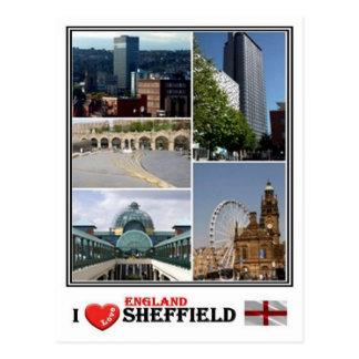 GB England - Yorkshire Sheffield - Postcard