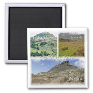 GB * England - Yorkshire - The Three Peaks Magnet