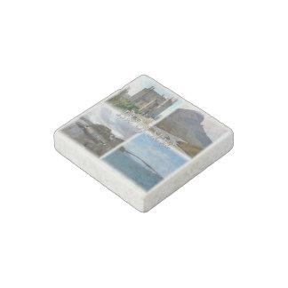 GB  Scotland - The Isle Of Skye- Castle - Stone Magnets
