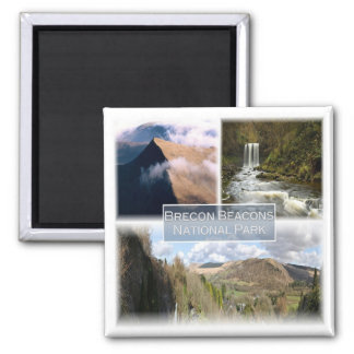 GB * The Brecon Beacons National Park Wales Magnet