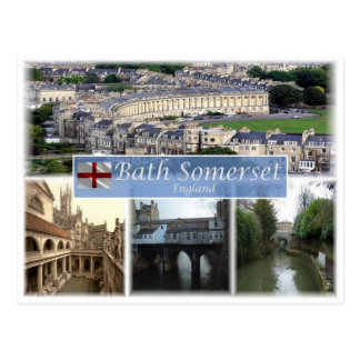 GB United Kingdom - England - Bath Somerset - Postcard