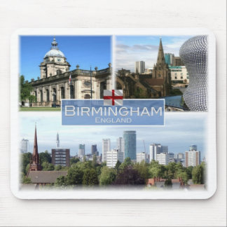 GB United Kingdom - England - Birmingham - Mouse Pad