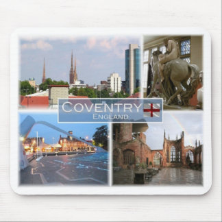GB United Kingdom - England - Coventry - Mouse Pad