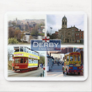 GB United Kingdom - England - Derby - Guidhall - Mouse Pad