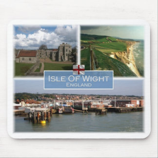 GB United Kingdom - England - Isle Of  Wight - Mouse Pad