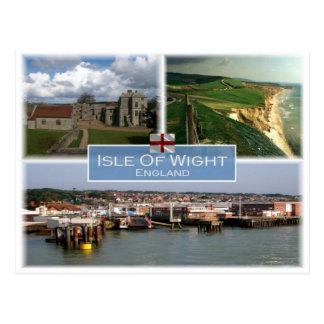 GB United Kingdom - England -  Isle Of  Wight - Postcard