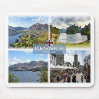GB United Kingdom - England - Keswick - Mouse Pad