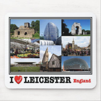GB United Kingdom - England - Leicester - Mosaic - Mouse Pad