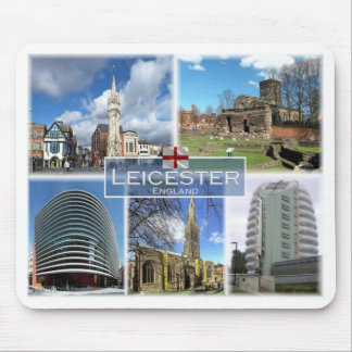 GB United Kingdom - England - Leicester - Mouse Pad