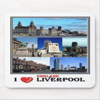 GB United Kingdom - England -  Liverpool - Mouse Pad