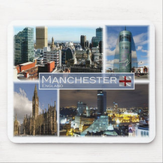GB United Kingdom - England - Manchester - Mouse Pad