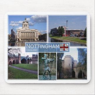 GB United Kingdom - England - Nottingham - Mouse Pad