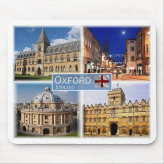 GB United Kingdom - England - Oxford - Mouse Pad