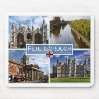 GB United Kingdom - England - Peterboroug - Mouse Pad