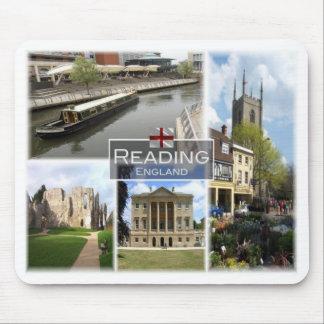 GB United Kingdom - England - Reading Mouse Pad