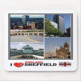 GB United Kingdom - England - Sheffield - Mouse Pad