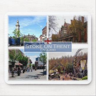 GB United Kingdom - England - Stoke-On-Trent - Mouse Pad