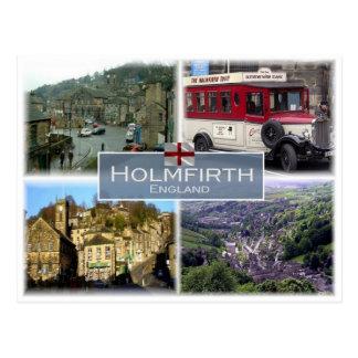 GB United Kingdom - England - Yorkshire - Holmfirt Postcard