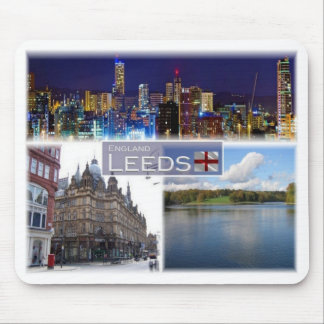 GB United Kingdom - England - Yorkshire - Leeds - Mouse Pad