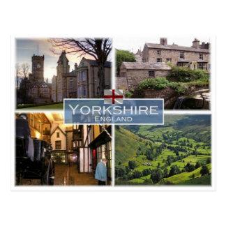 GB United Kingdom - England - Yorkshire - Postcard