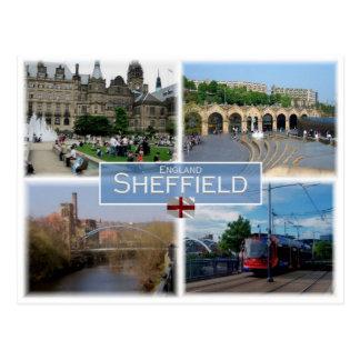 GB United Kingdom - England -Yorkshire - Sheffield Postcard