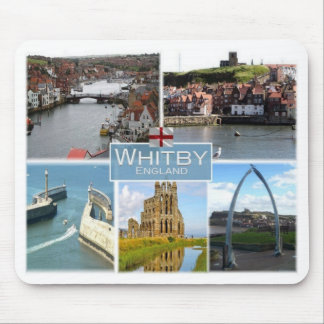 GB United Kingdom - England - Yorkshire - Whitby - Mouse Pad