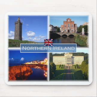 GB United Kingdom - Northern Ireland - Mouse Pad
