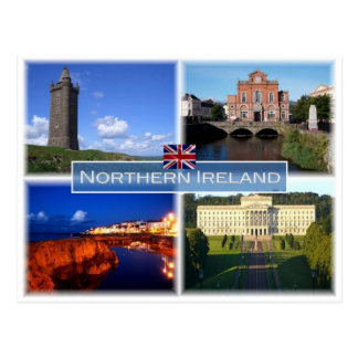 GB United Kingdom - Northern Ireland - Postcard