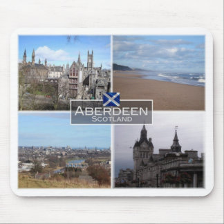 GB United Kingdom - Scotland - Aberdeen - Mouse Pad