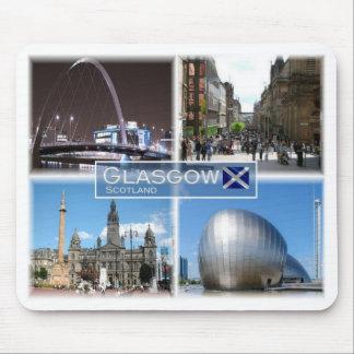 GB United Kingdom - Scotland - Glasgow - Mouse Pad