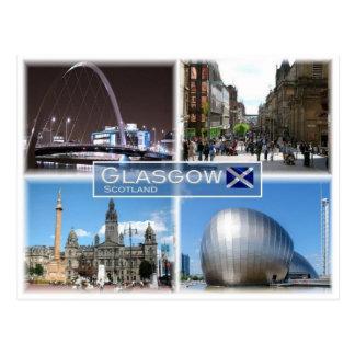 GB United Kingdom - Scotland - Glasgow - Postcard