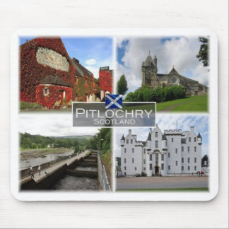 GB United Kingdom - Scotland - Pitlochry - Mouse Pad