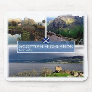 GB United Kingdom - Scotland  - Scottish Highlands Mouse Pad