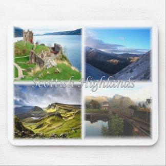 GB United Kingdom Scotland -The Scottish Highland Mouse Pad