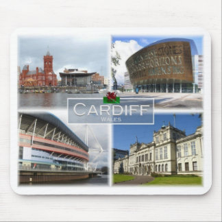 GB United Kingdom - Wales - Cardiff - Mouse Pad