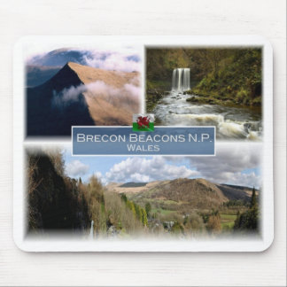 GB United Kingdom - Wales - The Brecon Beacons N.P Mouse Pad