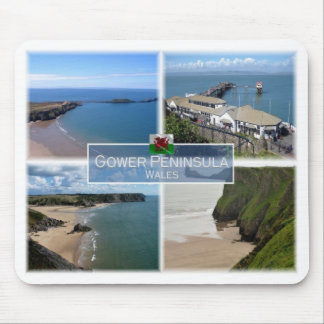 GB United Kingdom - Wales - The Gower Peninsula - Mouse Pad