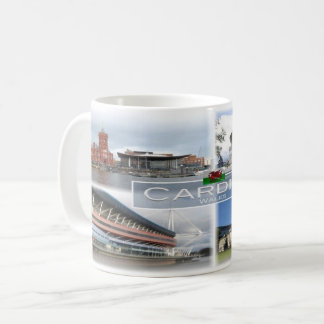 GB  Wales - Cardiff Coffee Mug
