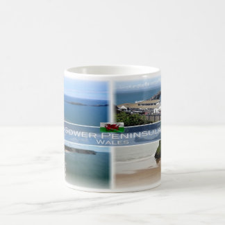 GB Wales - The Gower Peninsula Mumbles - Coffee Mug
