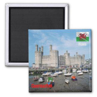 GB - Welsh - Caernarfon Castle Magnet