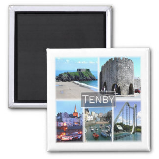 GB * welsh - Tenby Wales Magnet