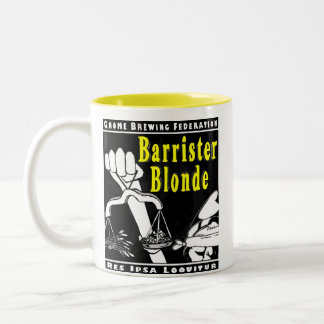 GBF Barrister Blonde Mug