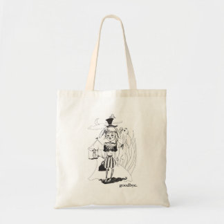 """G'bye My Clown"" Tote, with ""goodbye."" Inscription Tote Bag"