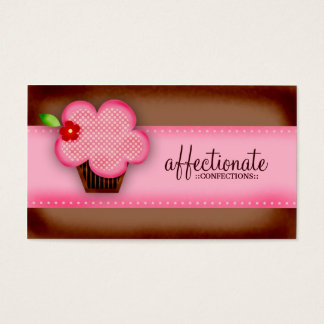 GC | AFFECTIONATE CONFECTIONS CUPCAKE BUSINESS CARD