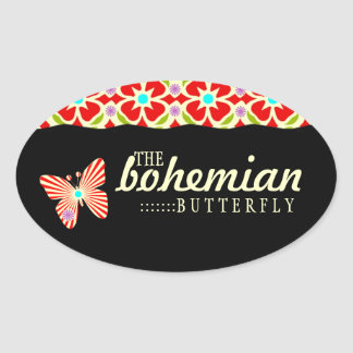 GC | Bohemian Butterfly Stickers