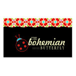 GC | Bohemian Ladybug Pack Of Standard Business Cards