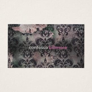 GC Captivating Contessa | Pink | MatteCreamCard Business Card