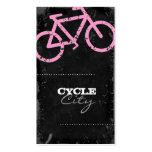 GC   Cycle City Concrete - Pink Business Card